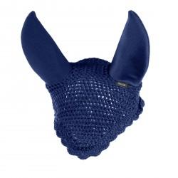 Horze Silent Ear Net Blue peacoat