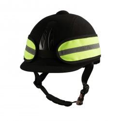 Horze Reflective Helmet Band Yellow