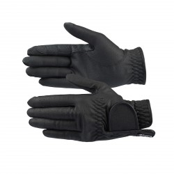Horze Eleanor PU-Leather Gloves Black