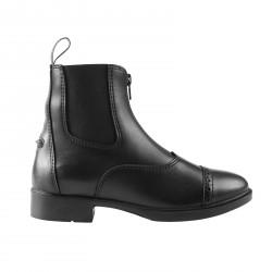 Horze Wexford Women's Front-Zip Jodhpur Boots Black