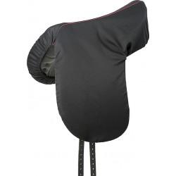 Funda de silla de algodón Negro