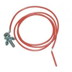 Cable de tierra de 90 cm completo con tornillos Horizont
