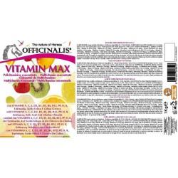 Pienso complementario Officinalis® Vitamineral Max