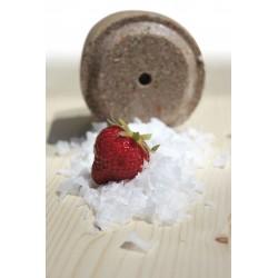 "Piedra de sal Officinalis® Lollyroll"" - Fresas / Algarroba / Malva"""
