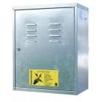 Electrificable metal transport box
