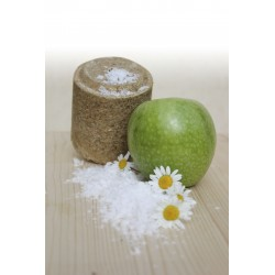 Bloc de sel Officinalis Lollyroll - Pomme / Camomille