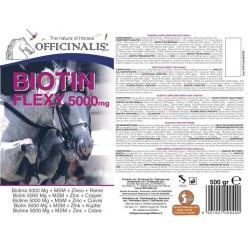 Aliment complémentaire Officinalis® Flexi Biotine 5000