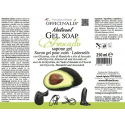 """OFFICINALIS® """"Avocado"""" soap gel for leather - Step 1"""