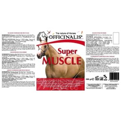 Pienso complementario Officinalis® Super Muscle