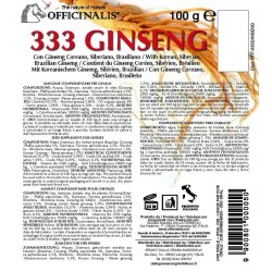 Pienso complementario Officinalis® 333 Ginseng
