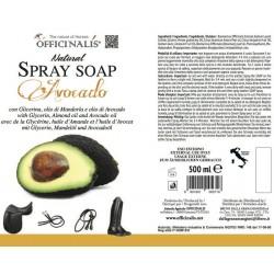 "OFFICINALIS® ""Avocado"" leather soap spray"