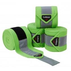LeMieux High Visibility Polo Bandages Lime