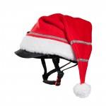 Sombrero Navidad  para casco Horze Roja