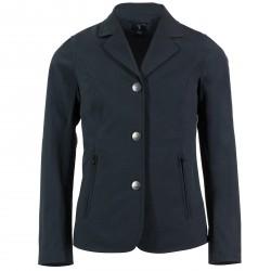 Horze Adele Jr. Kids Softshell Show Jacket Navy blue