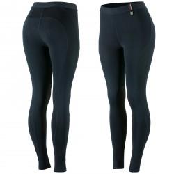 Pantalon anti-dérapant silicone Horze Serena femme Bleu marine