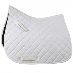 Horze Trapani Dressage Saddle Pad White