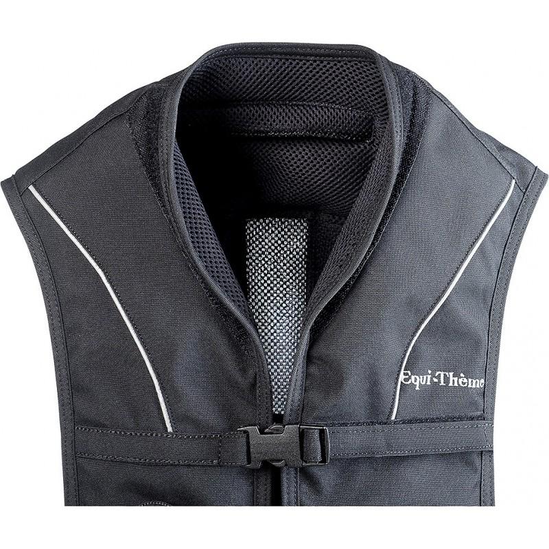 gilet de protection equi theme air avec airbag pour l 39 equitation. Black Bedroom Furniture Sets. Home Design Ideas