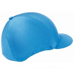 Cross country helmet cover Royal blue