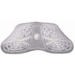 T de T Honeycomb Gel Front Riser Pad Translucent