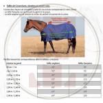 T de T Stretch Neck® 2 In 1 Rug 150gsm Both Outdoor And Indoor Black / grey