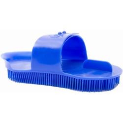 T de T Plastic Curry Comb Blue