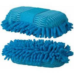 Éponge mesh et micro-fibre T de T Bleu ciel