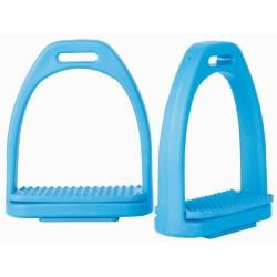 Étrier plastique couleur T de T Bleu