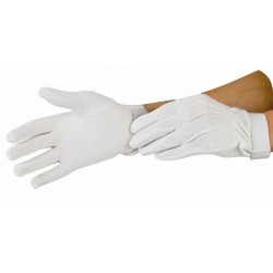 T de T Initiation Gloves White