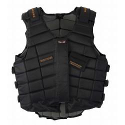 Chaleco protector level 3 T de T Negro / Gris