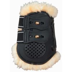 Protèges boulet Proteck' Compet mouton T de T Noir / noir