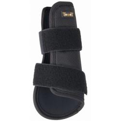 T de T Open Tendon Boots Black