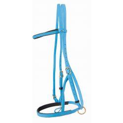 Bridon licol Biotack® T de T Bleu clair