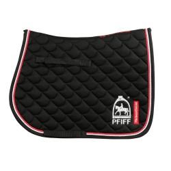 PFIFF Black all purpose saddle cloth with PFIFF logo