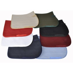 T de T Saddle Pad Black