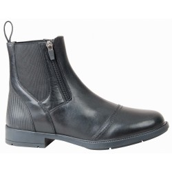 T de T Ornati leather Jodhpur boots Black