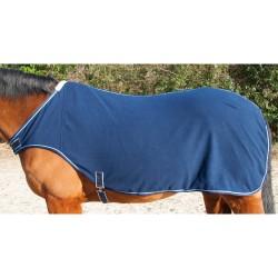 Fleece walker rug T de T 260g Black / grey