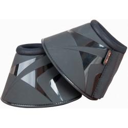T de T neoprene and PVC bell boots Black