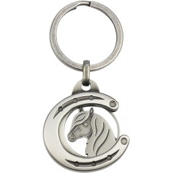 "Coin Holder ""Horse Shoe with Horse Head"""