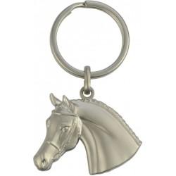 """Llavero """"Cabeza de caballo con cabezada"""" 3D"""