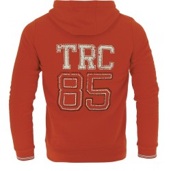 TRC 85 Hooded jacket - Girls Coral