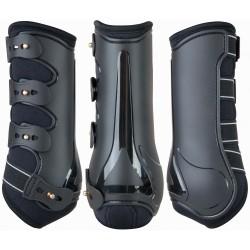 T de T Design dressage tendon boots Black