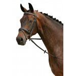 PFIFF Westminster snaffle bridle