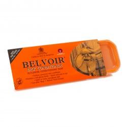 Savon glycériné Belvoir pour cuir 250g