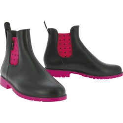 Equi-Kids Peas Synthetic boots navy blue / fuchsia