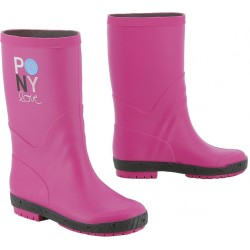 Equi-Kids Pony Love Synthetic boots Fuchsia