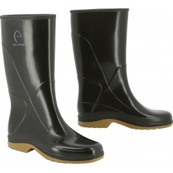 Equi-Theme Synthetic boots black / taupe grey