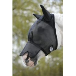 Máscara antimoscas con nariz Weatherbeeta Negro