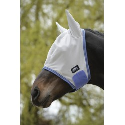 Weatherbeeta Fly Mask Grey / blue