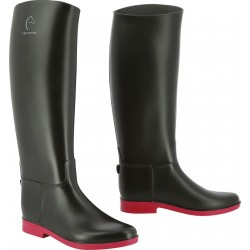 Equi-Theme Synthetic boots black / fuchsia