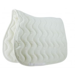 Equi-Theme Polyfun Saddle Pad White / white